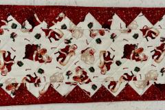 Santa Table Runner, #146
